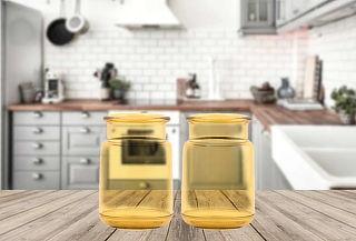 2 Vasos de Acrilico Vintage