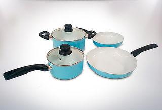 Batería de Cocina 6 Piezas de Cerámica