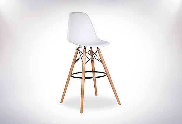 Pack 2 Sillas de Bar Eames