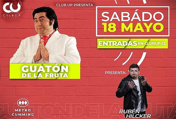 18 de Mayo! Stand Comedy para 2 o 4 pers + Tragos + Comida