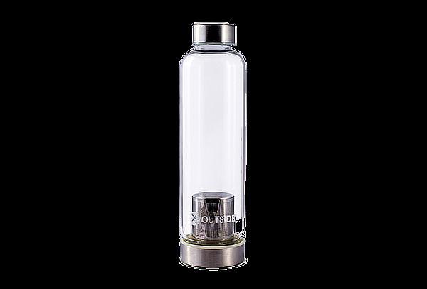 Botella con Infusor Os Outside modelo Silver