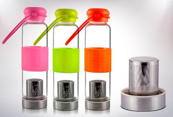 Botella con Infusor Os Outside Journey, Color a Elección