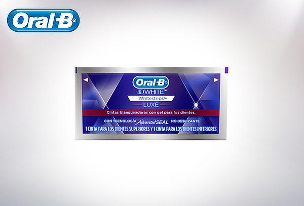 Cintas Blaqueadoras Oral-B 3D White o 3D White Advanced Seal