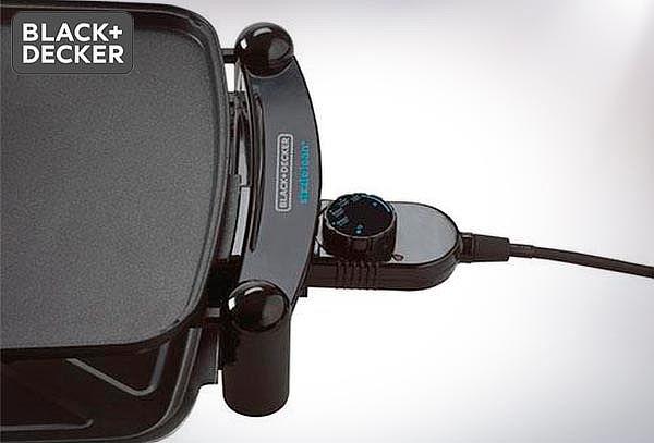 Parrilla Eléctrica Black and Decker modelo IG201-CL