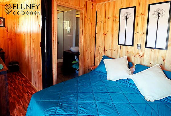 Eluney Cabañas, Pichilemu: 1, 2 o 3 noches para 2 personas