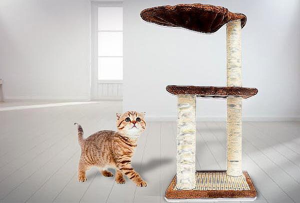 Rascador para Gatos 3 niveles