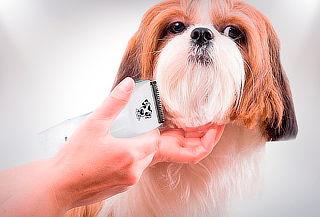Máquina Recargable Corta Pelo para Mascotas
