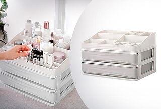 Organizador de Maquillaje y Joyas con 2 niveles
