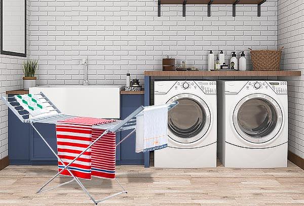 Secador de ropa eléctrico, modelo a elección