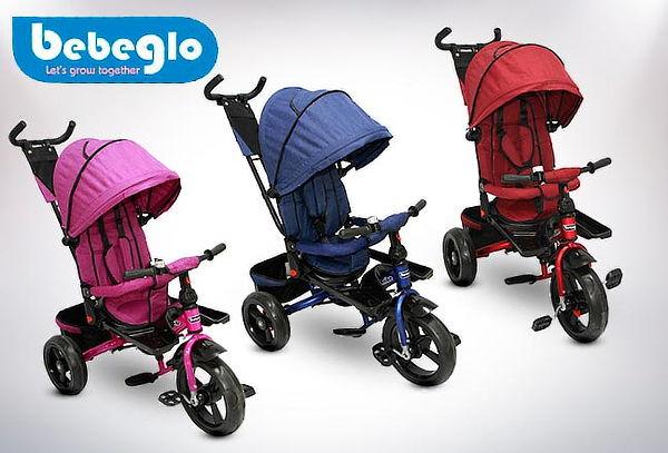 Triciclo Coche Reversible RS-4075 marca Bebeglo