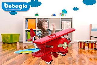 Planeador a Pedales RS-9940 Bebeglo