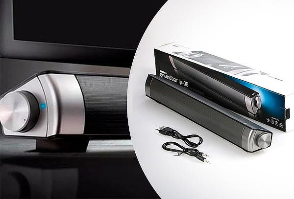 Barra de Sonido Horizontal Stereo Soundbar Bluetooth 3.0