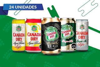 Pack 24 Latas de Canada Dry a elección