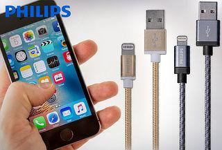 Cable para iPhone 1.2 Metros Philips, Color a Elección