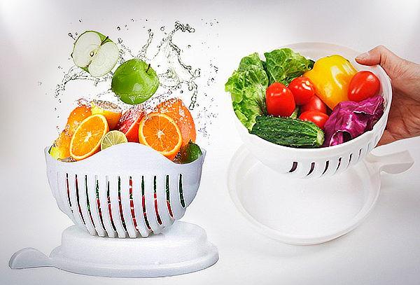 Picador de Ensaladas y Frutas