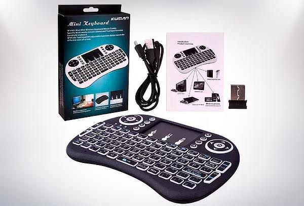 Mini Teclado Inalámbrico TouchPad