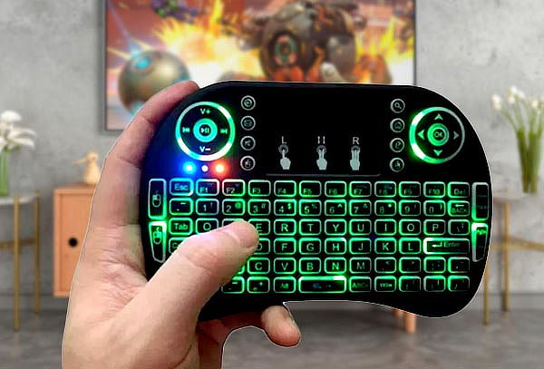 Mini Teclado Inalámbrico TouchPad