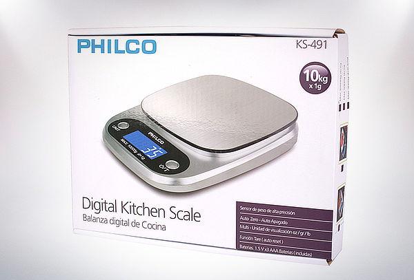 Balanza digital ks 491 Philco