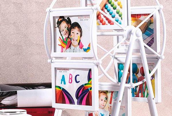Portaretrato decorativo Giratorio 12 Fotos