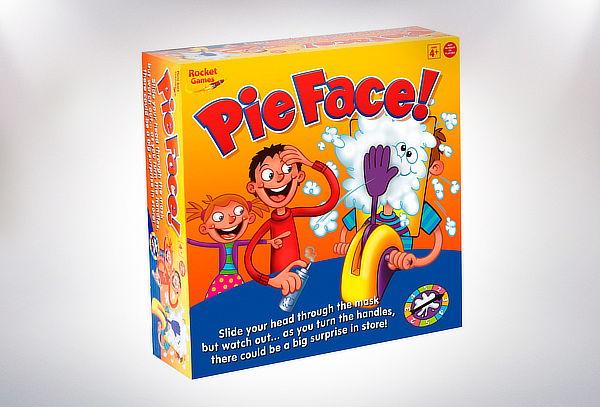 Juego Pastelazo Pie Face para Niña o Niño
