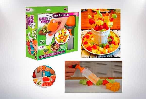 Molde Cortador de Frutas y Verduras
