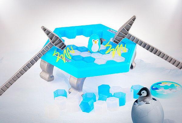 Juego Salva el Pingüino para 2 Jugadores