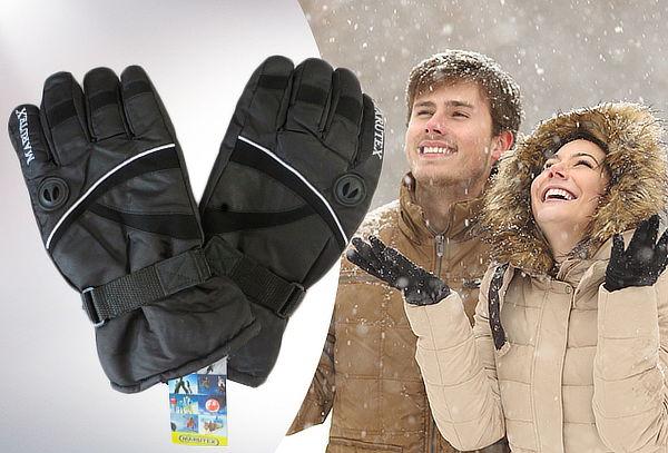 Guantes para la Nieve color Negro