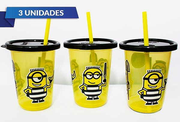Pack de 3 Vasos de Minions
