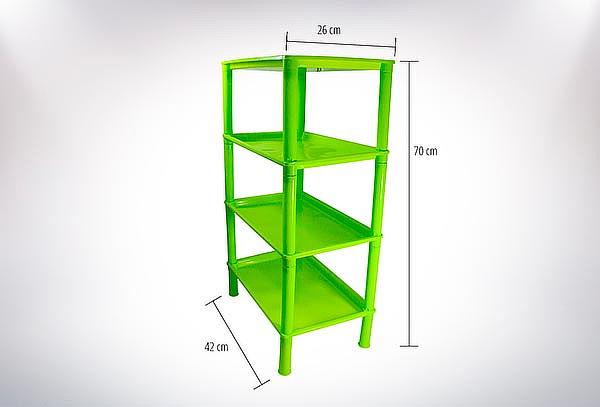 Rack Organizador Multipropósito 4 Niveles