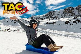 TAC Turismo: Tour full day Parque Farellones + actividades
