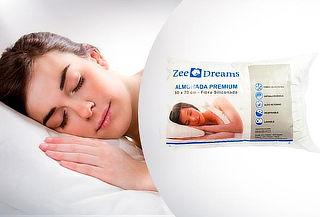 1, 2, 3 o 4 Almohadas Premium 50x70cm, Zee Dreams