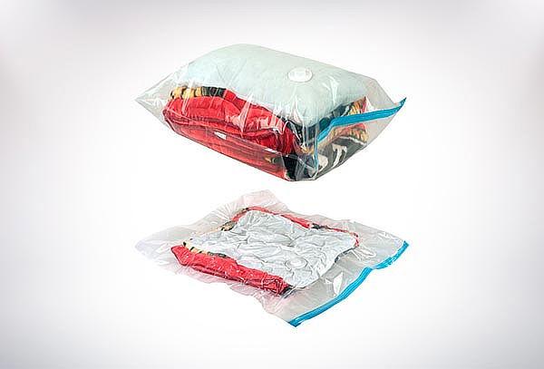Pack 5 Bolsas Compresoras para Guardar al Vacío