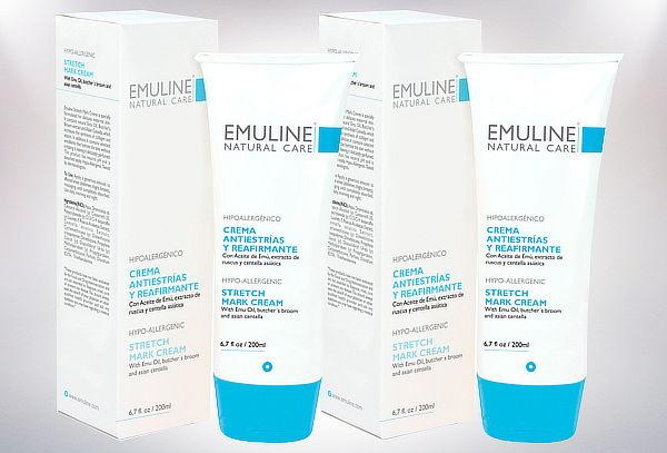 Pack 2 Cremas Emuline Antiestrías Reafirmante 200 ml