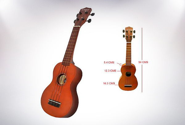 Ukelele Modelo Makami Soprano 4 Cuerdas