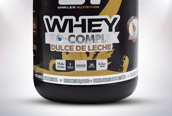 Whey Pro Complex en Frasco o Bolsa sabor a elección