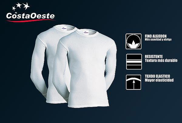 Pack 2 Camisetas Térmicas de Algodón para niños Costa Oeste
