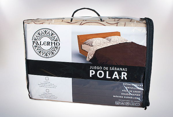 Sábanas de Polar Antipeeling 1 1/2 o 2 Plazas