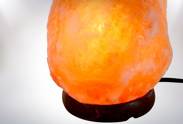 Lámpara de Sal, 3 Tamaños a Elección