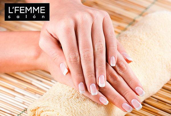 L'Femme Salón: Manicure Esmaltado Permanente, Ñuñoa