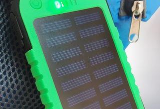 Cargador Solar Portátil Impermeable con USB