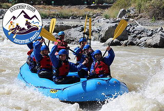 Cajón del Maipo: Rafting + Snack + Transporte