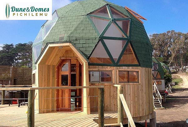 Dune & Domes Pichilemu: 1, 2, 3 o 4 noches para 2 personas