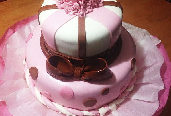Torta para 15 o 30 Personas + 12 Mini Cupcakes, Puente Alto