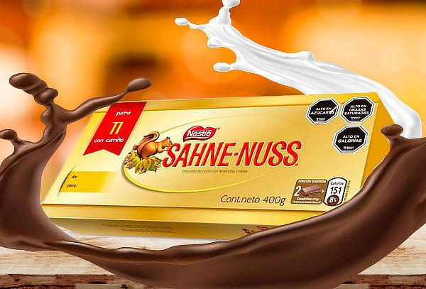 Sahne Nuss 400g formato regalo