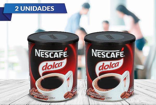 Pack 2 Café Instantáneo Dolca 400 gramos