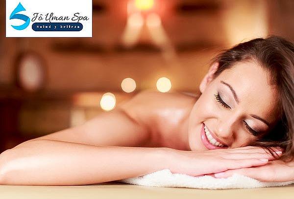 Día de spa para 1 o 2 personas con masaje premium