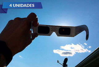 5490a16964 Pack 4 Lentes para ver eclipse