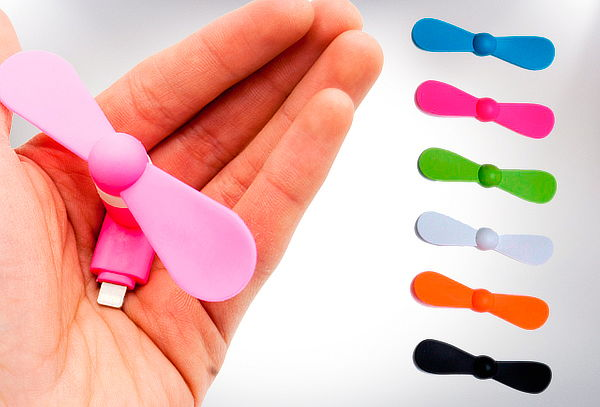 Ventilador para Dispositivos Móviles