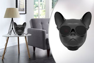 Parlante Bluetooth Modelo Bulldog Color negro