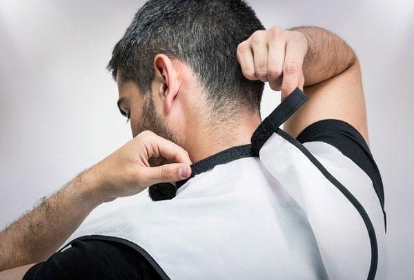 Delantal Barbero para Afeitarse